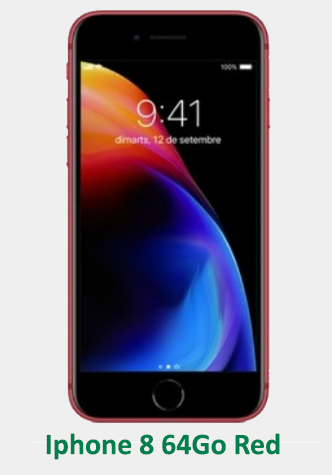IPhone 8 64Go Red